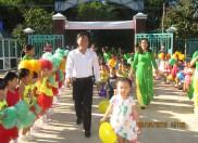 """Trường MN Đại Quang tổ chức """" Ngày hội đến trường của bé"""" năm học 2015-2016"""